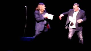 Rich invades Stew's book launch – 2010