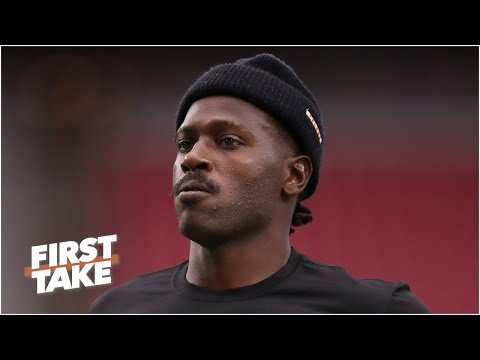 Video: Antonio Brown to play for the Patriots vs. the Dolphins in Week 2 | First Take