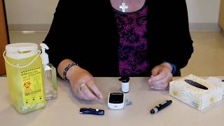 Image of How to check your blood sugars video
