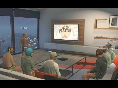 Jahova gta 5 funny moments watching tv with the crew gta online funny