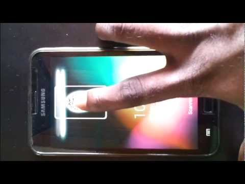 Video of Fingerprint Screen Lock JB