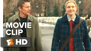 Maggie's Plan Movie CLIP - Can I Join You? (2016) - Ethan Hawke, Greta Gerwig Movie HD
