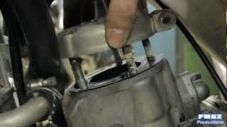 9. Honda Cr 125 piston / top end rebuild.  A movie produced by Frez Productions