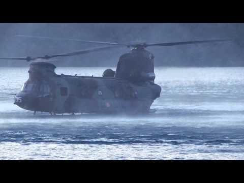 Эвакуация испанского спецназа