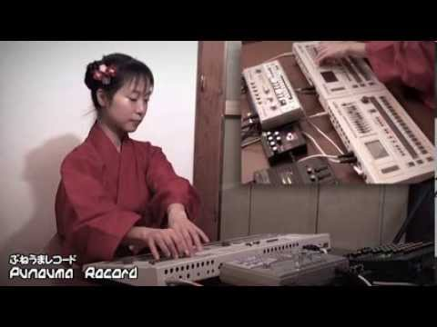 Collection - Japanese techno ladies in traditional dresses