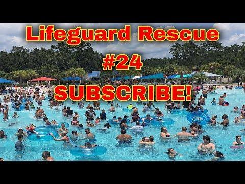 當這位救生員跳入泳池中時,還沒有任何人意識到一位小男孩正在水中掙扎著...我已經被救生員的偉大感動了。