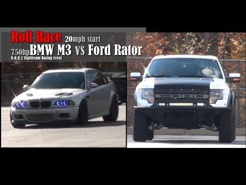 BMW vs. Ford Raptor