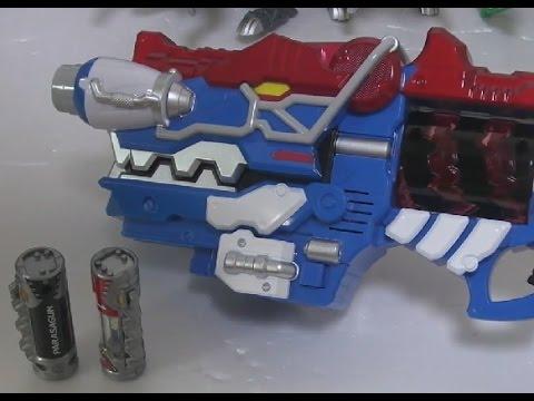 케이프 [파워레인저 다이노포스 – 기가 가브리볼버 장난감] Power Rangers Toys 장난감 채널