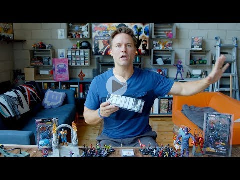 Marvel HeroClix Avengers Black Panther and the Illuminati Unboxing Part 4