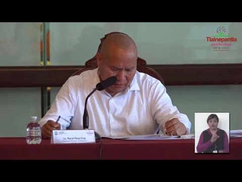 Cabildo H. Ayuntamiento de Tlalnepantla de Baz 20 marzo 2020