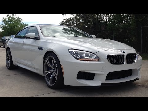 2015 BMW M6 Gran Coupe Full Review, Start Up, Exhaust