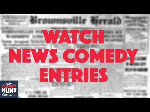 Comedy Hunt | News Comedy Entries