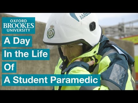 A Day in the Life of a Student Paramedic