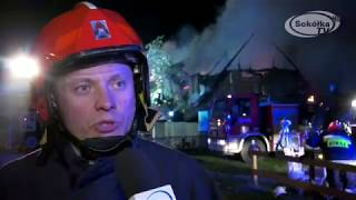 Film do artykułu: Pożar w Kruszynianach....