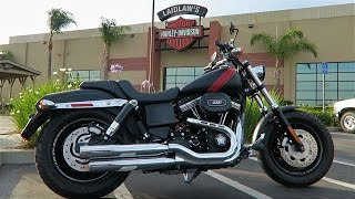 5. 2017 Harley-Davidson Dyna Fat Bob (FXDF)│In-Depth Review and Test Ride