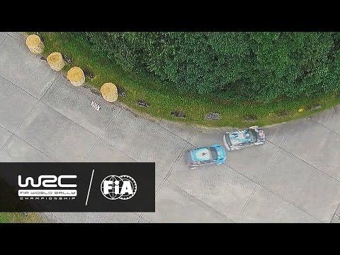 WRC - ADAC Rallye Deutschland 2016: AERIAL ANALYSIS Ogier vs. ?stberg