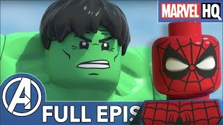 Video LEGO Avengers Fight Super Villains! | Marvel LEGO: Maximum Overload (ALL EPISODES) MP3, 3GP, MP4, WEBM, AVI, FLV Juli 2019
