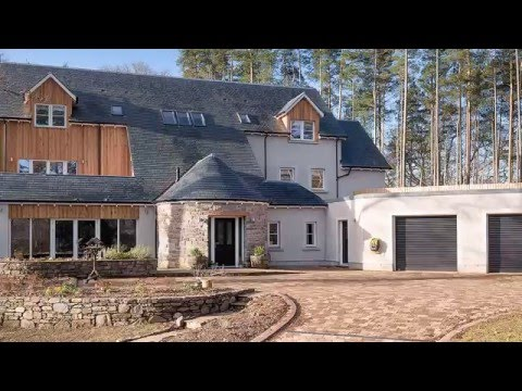 Sunday Post Property, Torr Darroch, Aberfeldy, Perthshire. Savills estate agents