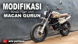 modifikasi macan gurun - honda tiger 2005