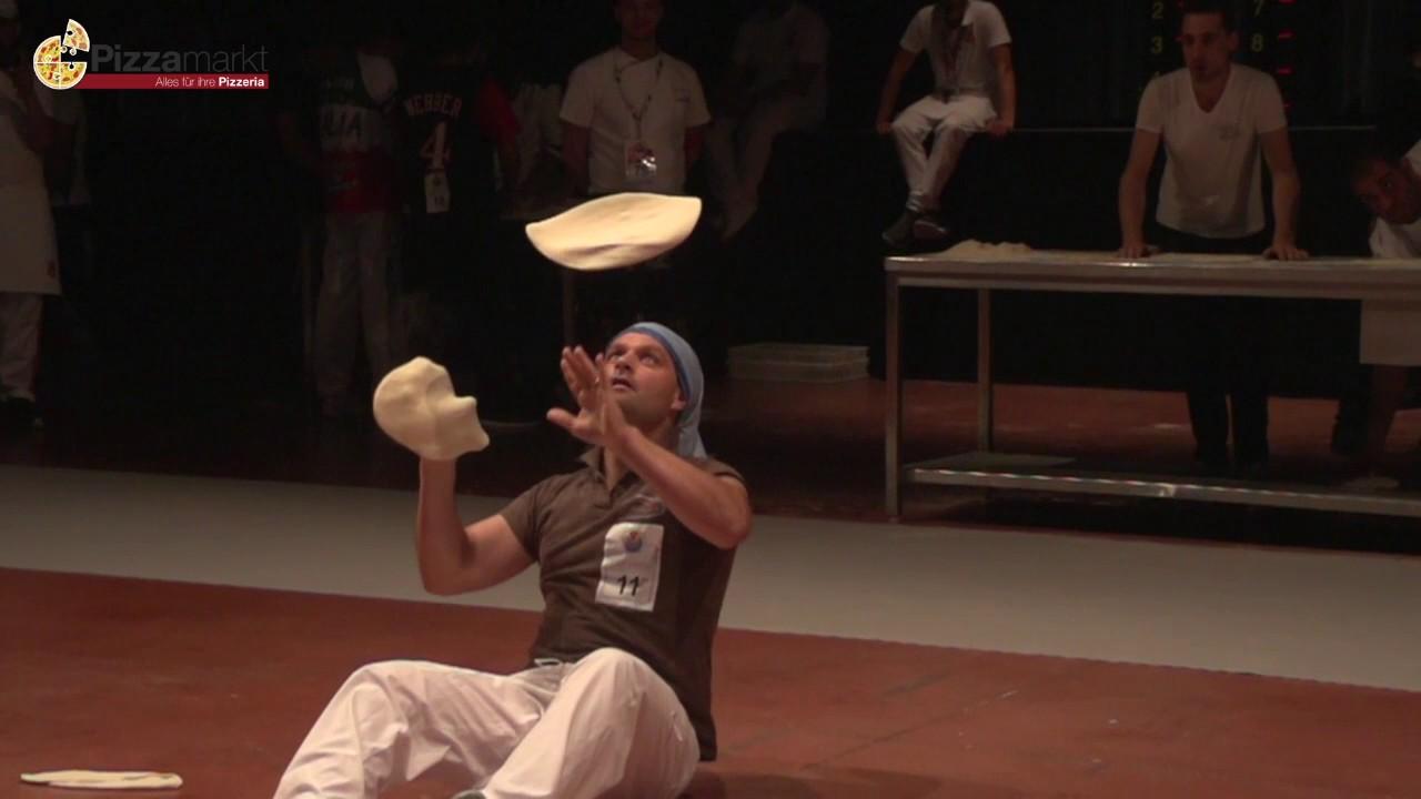Pizzaiolo in Aktion - Pizza WM 2017 4