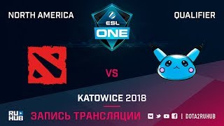 Team Radiant vs Blue Pikachu, ESL One Katowice NA, game 1 [Lum1Sit, Inmate]
