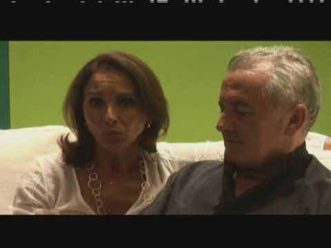 Víctor Manuel y Ana Belen con Raphael de España en el estudio de grabación