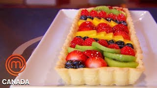 Chefs Take On The Technical Challenge Of A French Fruit Tart   MasterChef Canada   MasterChef World