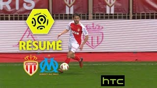 Monaco Monaco  city photo : AS Monaco - Olympique de Marseille (4-0) - Résumé - (ASM - OM) / 2016-17