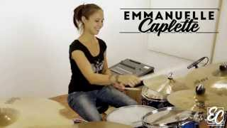 "Emmanuelle Caplette Show You Her Fat Snare Sound (She Cut An Extra Snare Head and Laid It On The Snare). And Here's Her 15"" Sabian Artisan HH.www.emmanuellecaplette.comwww.facebook.com/emmanuellecaplettedrummerwww.twitter.com/ecaplette"