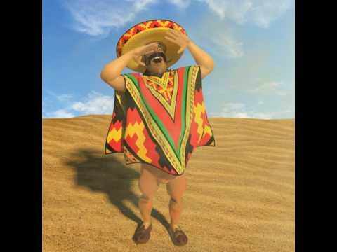 Mexican 3D model