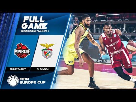 Spirou Basket v SL Benfica - Full Game - FIBA Euro...