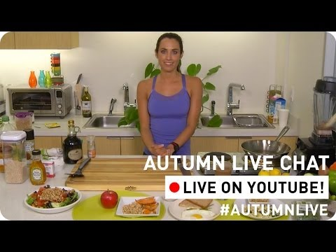 *LIVE* - Want more of these kinds of tips from Autumn? SUBSCRIBE! ▷ http://goo.gl/2xIMKK Today's *** Workout: JOIN ME ONLINE! Website ▷ *** Facebook ▷ http://face...