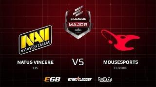 Natus Vincere vs mousesports, cobblestone, ELEAGUE Major 2017