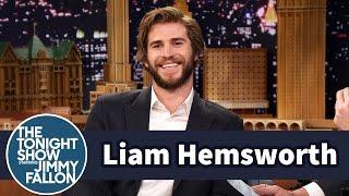 Liam Hemsworth Calls Kissing Jennifer Lawrence Awkward