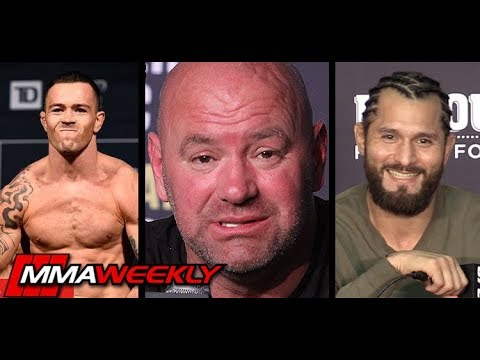 Dana White: Security wanted to remove Colby Covington and Jorge Masvidal hijinks  (UFC 241)