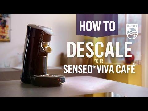 How to descale your Senseo® Viva Café© | Philips | HD7825