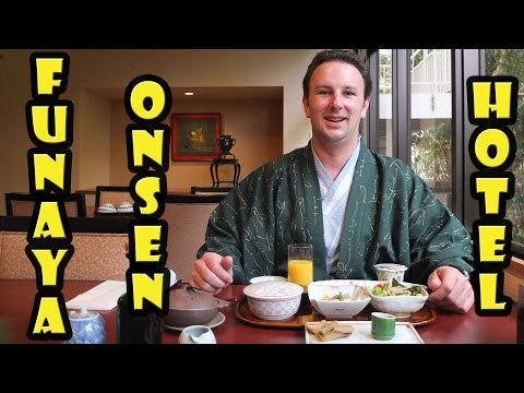 Best Onsen in Matsuyama Japan - Funaya (VIDEO)