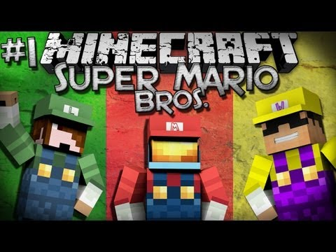 Minecraft: Super Mario Bros. w/ SkyDoesMinecraft & Deadlox - Part 1!