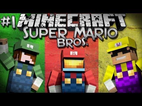 Minecraft: Super Mario Bros. w/ SkyDoesMinecraft & Deadlox - Part 1!