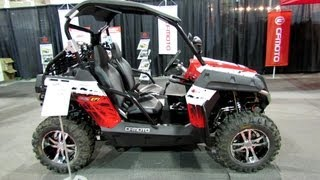 10. 2013 Cfmoto Snyper 600EFI Side by Side ATV - 2012 Salon National du Quad - Laval, Quebec