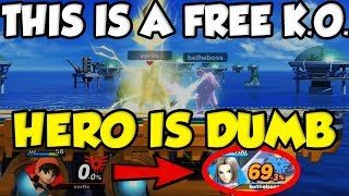 Hero is the DUMBEST Character In Smash Ultimate! by Verlisify
