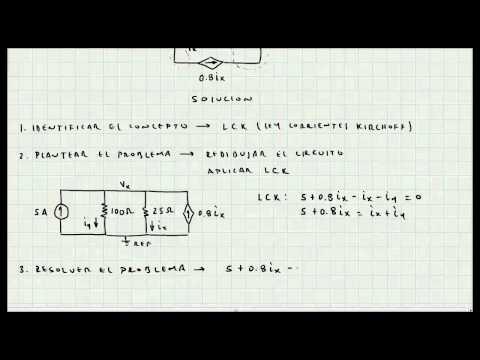 Ejercicio Ley de Corrientes de Kirchoff - Circuitos Electricos - Mi Profesor de Fisica - Video 048