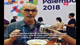 Video SOTO Jadi Makanan Favorit Jurnalis Asing di Asian Games 2018 - SIP 02/09 MP3, 3GP, MP4, WEBM, AVI, FLV September 2018