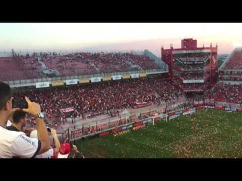 Independiente 0-1 Banfield Fecha 14 Recibimiento + Reinauguración (parte 1) (2016) - La Barra del Rojo - Independiente