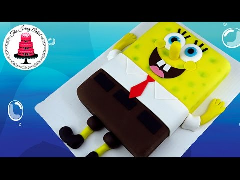 Spongebob Cake - How To With The Icing Artist & Let's Clay