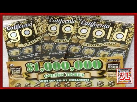BIG WIN or BUST ?** New $30 Tickets ** California Gold ** SL **