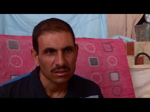 Iraq: Uprooted and living in a warehouse