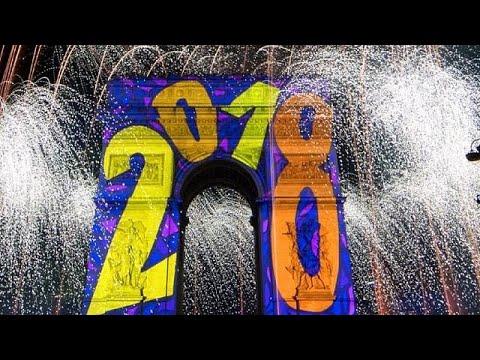 H Eυρώπη γιόρτασε την έλευση του 2018