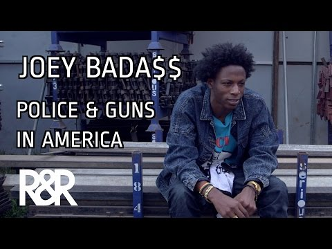Joey Bada$$ Talks Police, Racial Tension & Gun Problems