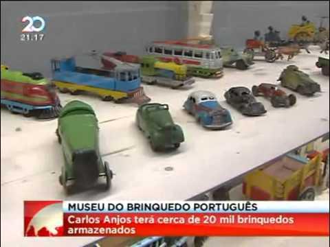 Museu do Brinquedo Português - Coleção de 2 mil peças do Século XIX até aos anos...